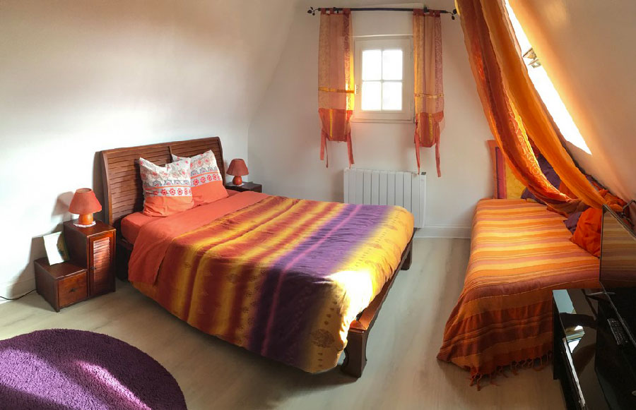 Chambre-Orange - Villa Trouz Ar Mor Chambres d\'hôtes, Massages bien ...