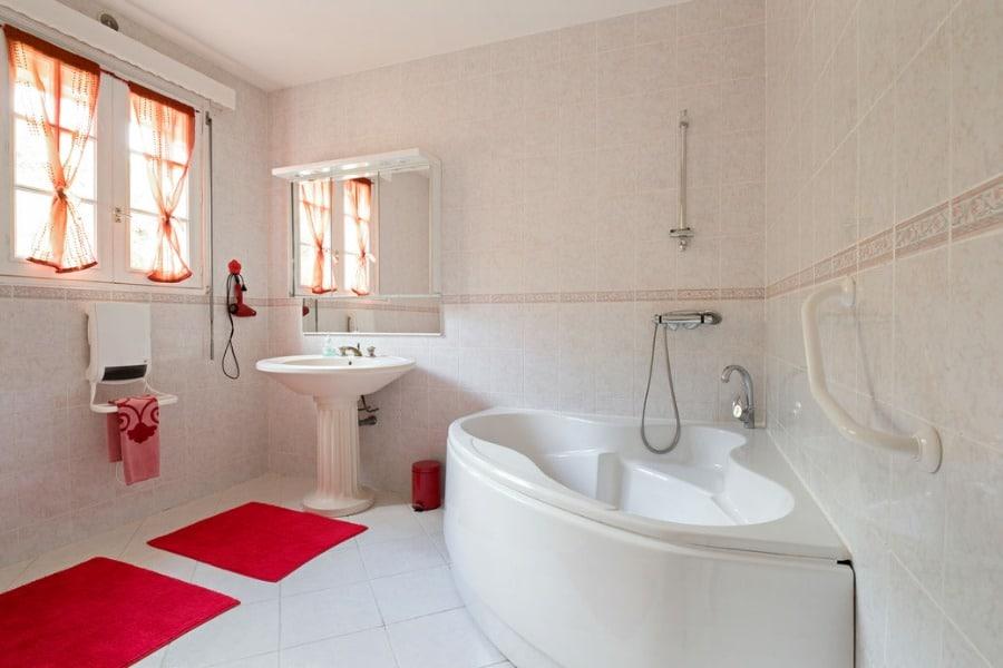 Salle de bain chambre romantique - Villa Trouz Ar Mor ...